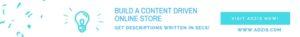 AdZis E-Commerce Content Engine