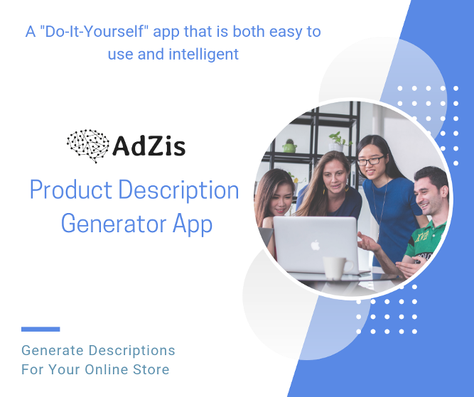 AdZis Product Descriptions Generator - NLG for Ecommerce Stores