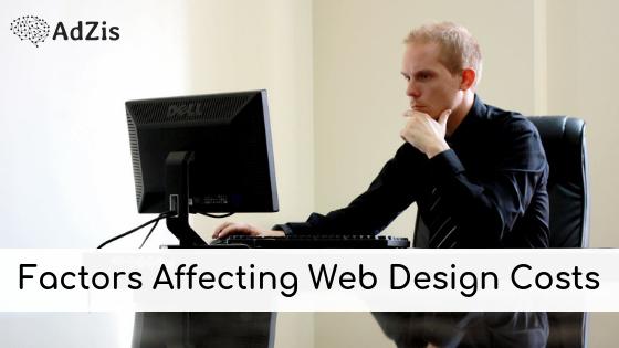 Factors Affecting Web Design Costs
