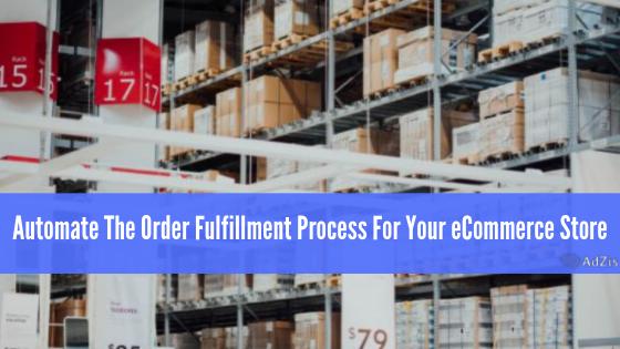 Order-Fulfill