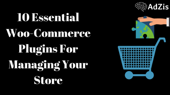 10 Essential Woo-Commerce Plugins For Managing Your Store