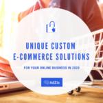 Custom E-Commerce Solutions