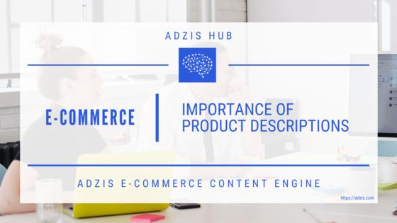 Ecommerce Product Descriptions