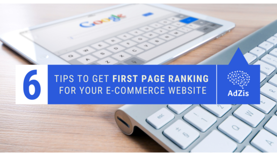 eCommerce First Page Ranking