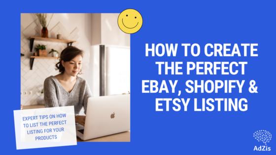eCommerce Product Listing