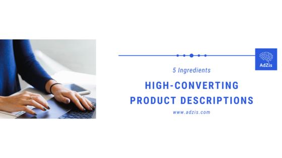 High-Converting Product Descriptions