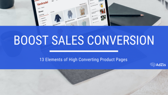 High Converting Product Pages