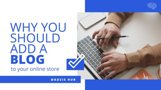Online Store Blog